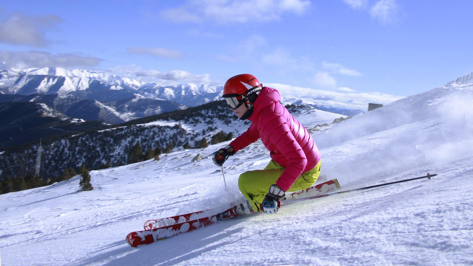 Esquiada ekke a Baqueira Beret