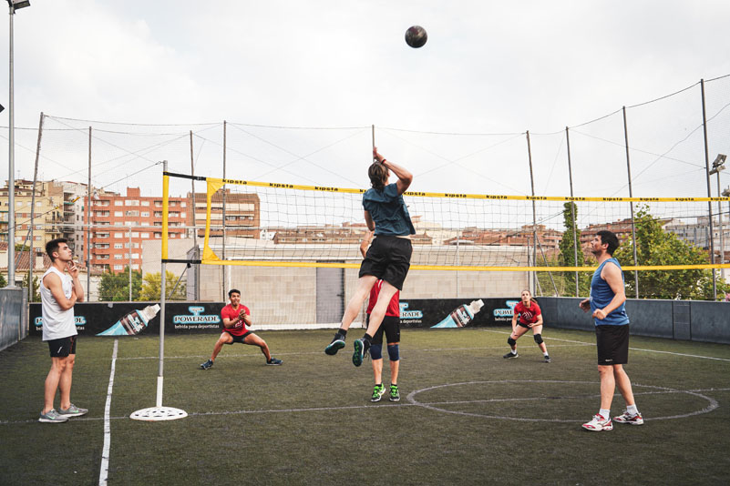 FREE-VOLLEY