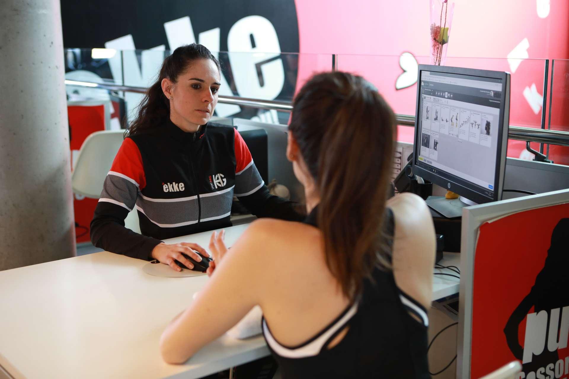 Aprofita el servei d'assessorament fitness